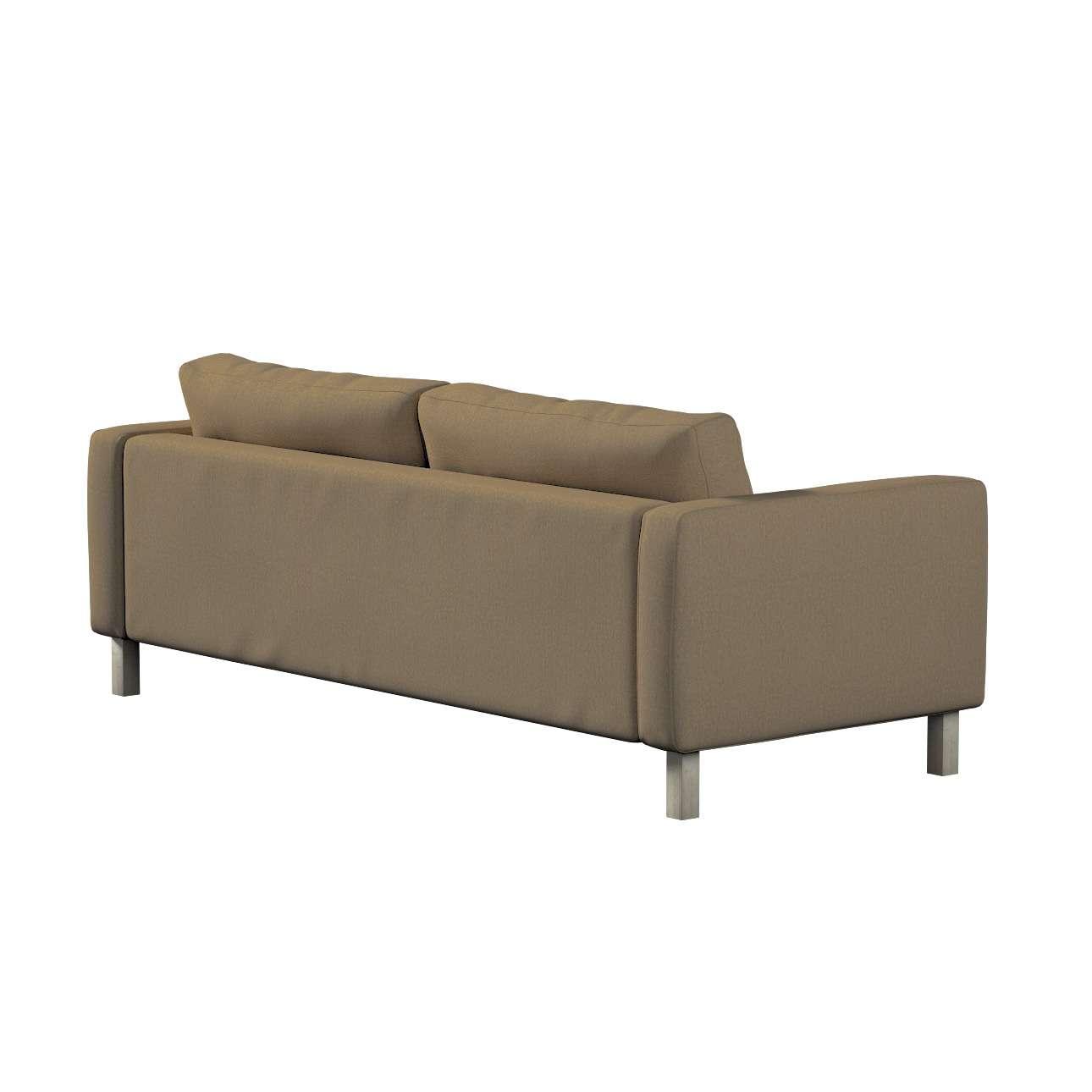Pokrowiec na sofę Karlstad rozkładaną w kolekcji Chenille, tkanina: 702-21