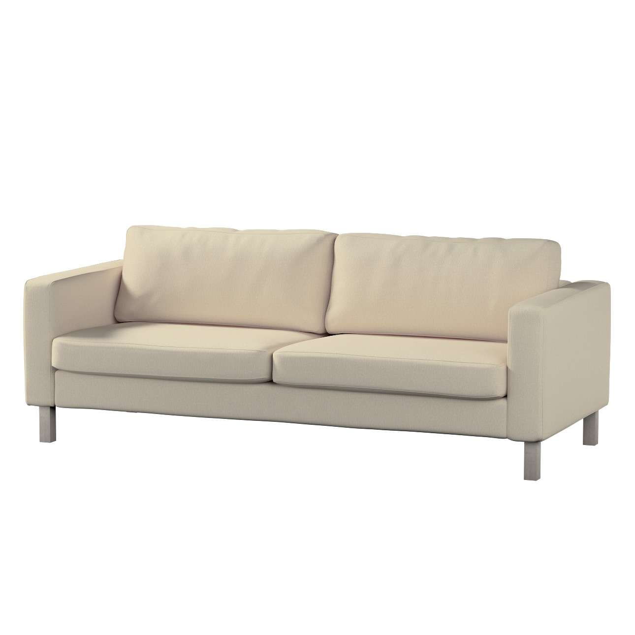 Pokrowiec na sofę Karlstad rozkładaną w kolekcji Chenille, tkanina: 702-22