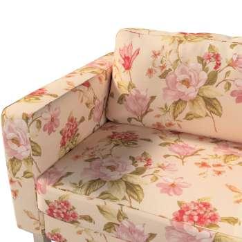 Pokrowiec na sofę Karlstad rozkładaną, krótki w kolekcji Londres, tkanina: 123-05