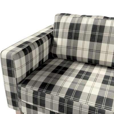Pokrowiec na sofę Karlstad rozkładaną w kolekcji Edinburgh, tkanina: 115-74