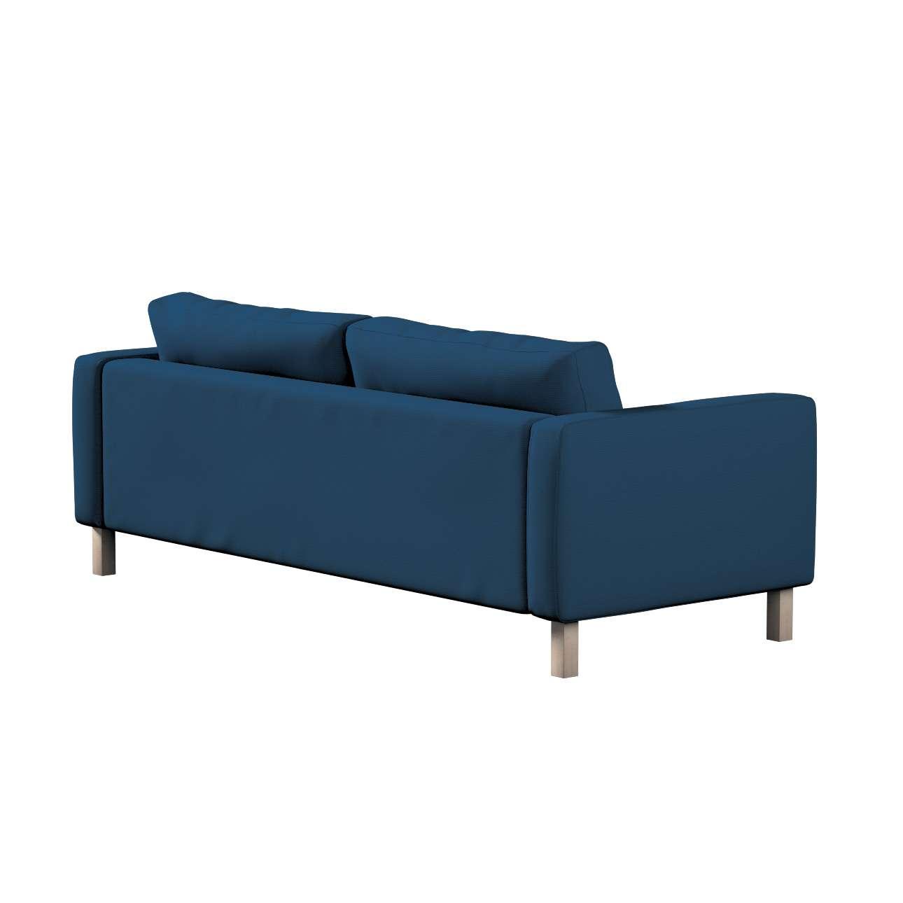 Potah na pohovku IKEA Karlstad, 3-místná, rozkládací v kolekci Cotton Panama, látka: 702-30