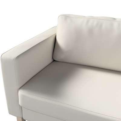 Pokrowiec na sofę Karlstad rozkładaną w kolekcji Cotton Panama, tkanina: 702-31