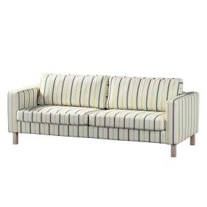 Pokrowiec na sofę Karlstad rozkładaną, krótki Sofa Karlstad 3-os rozkładana w kolekcji Avinon, tkanina: 129-66