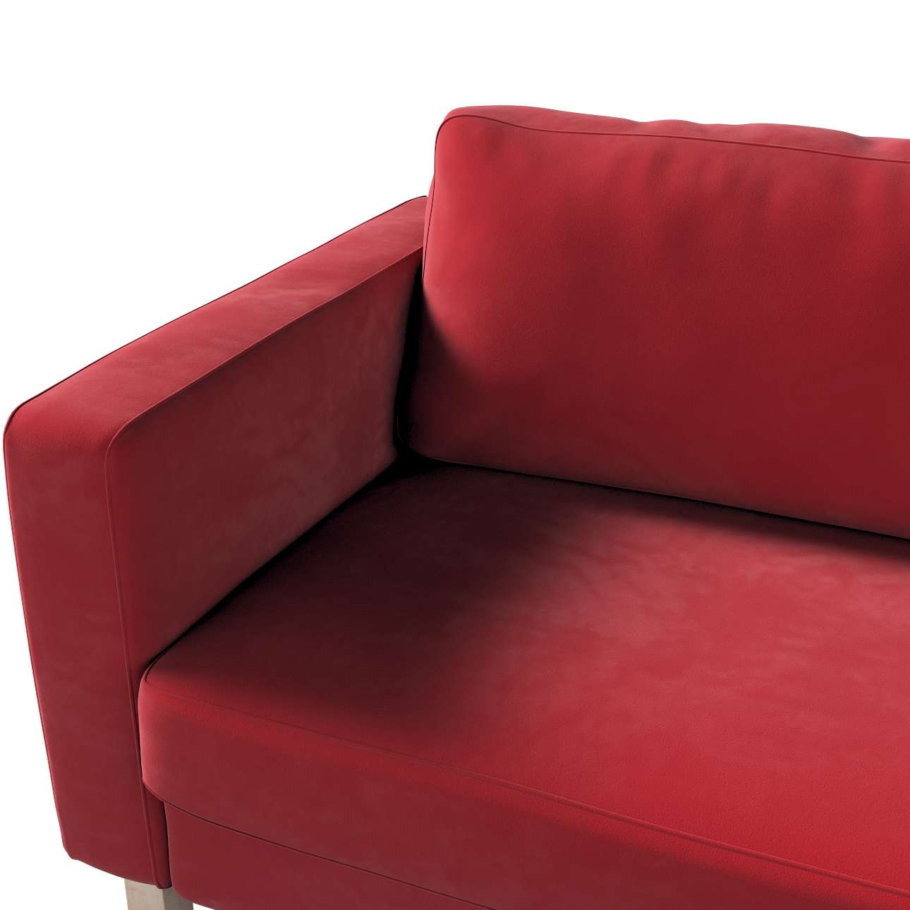 Pokrowiec na sofę Karlstad rozkładaną w kolekcji Velvet, tkanina: 704-15
