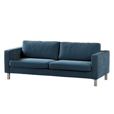 Poťah na sedačku Karlstad, krátky pre 3 os., rozkladacia V kolekcii Velvet, tkanina: 704-16