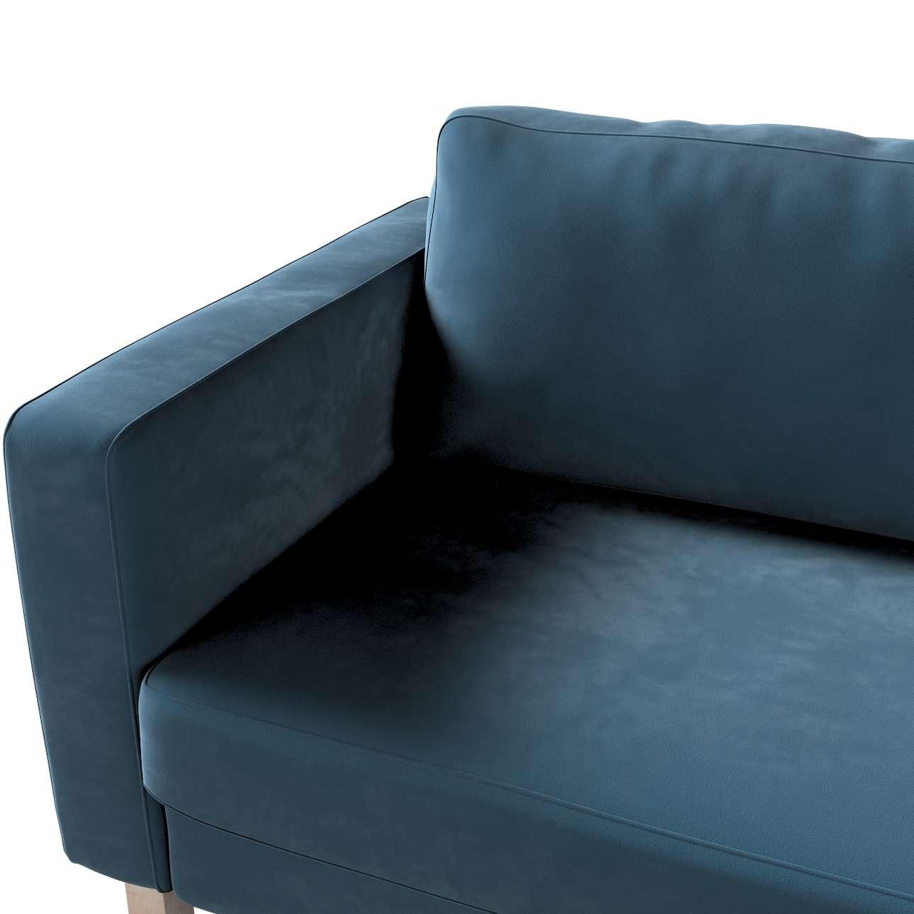Karlstad betræk sovesofa 222cm fra kollektionen Velvet, Stof: 704-16