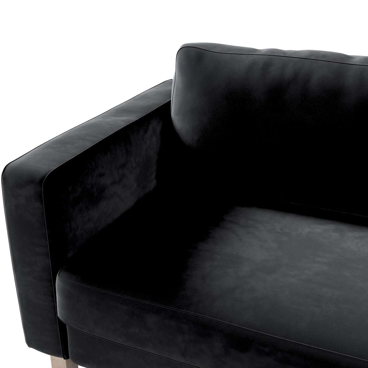 Karlstad betræk sovesofa 222cm fra kollektionen Velvet, Stof: 704-17