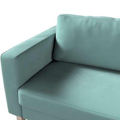 Pokrowiec na sofę Karlstad rozkładaną w kolekcji Velvet, tkanina: 704-18