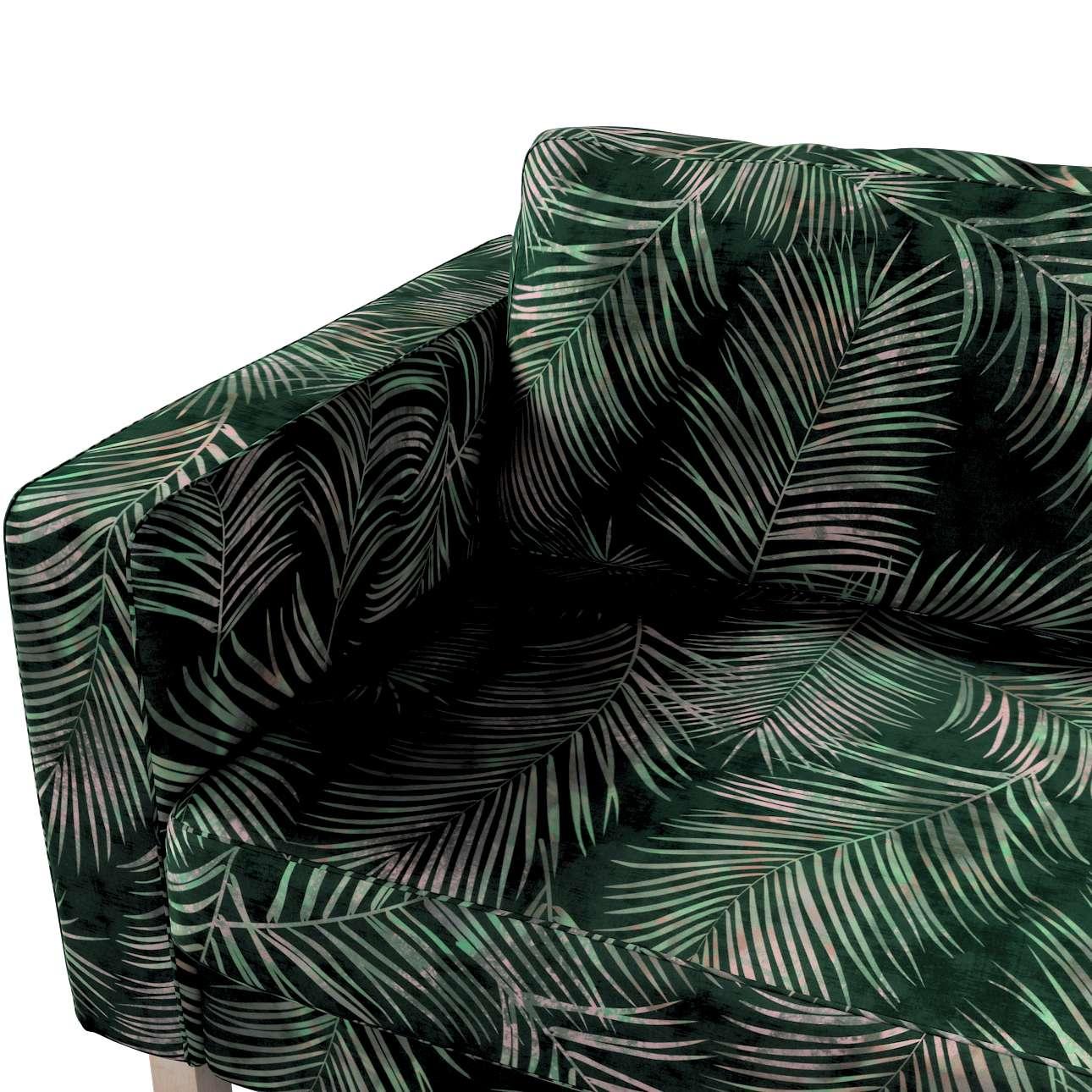 Pokrowiec na sofę Karlstad rozkładaną w kolekcji Velvet, tkanina: 704-21