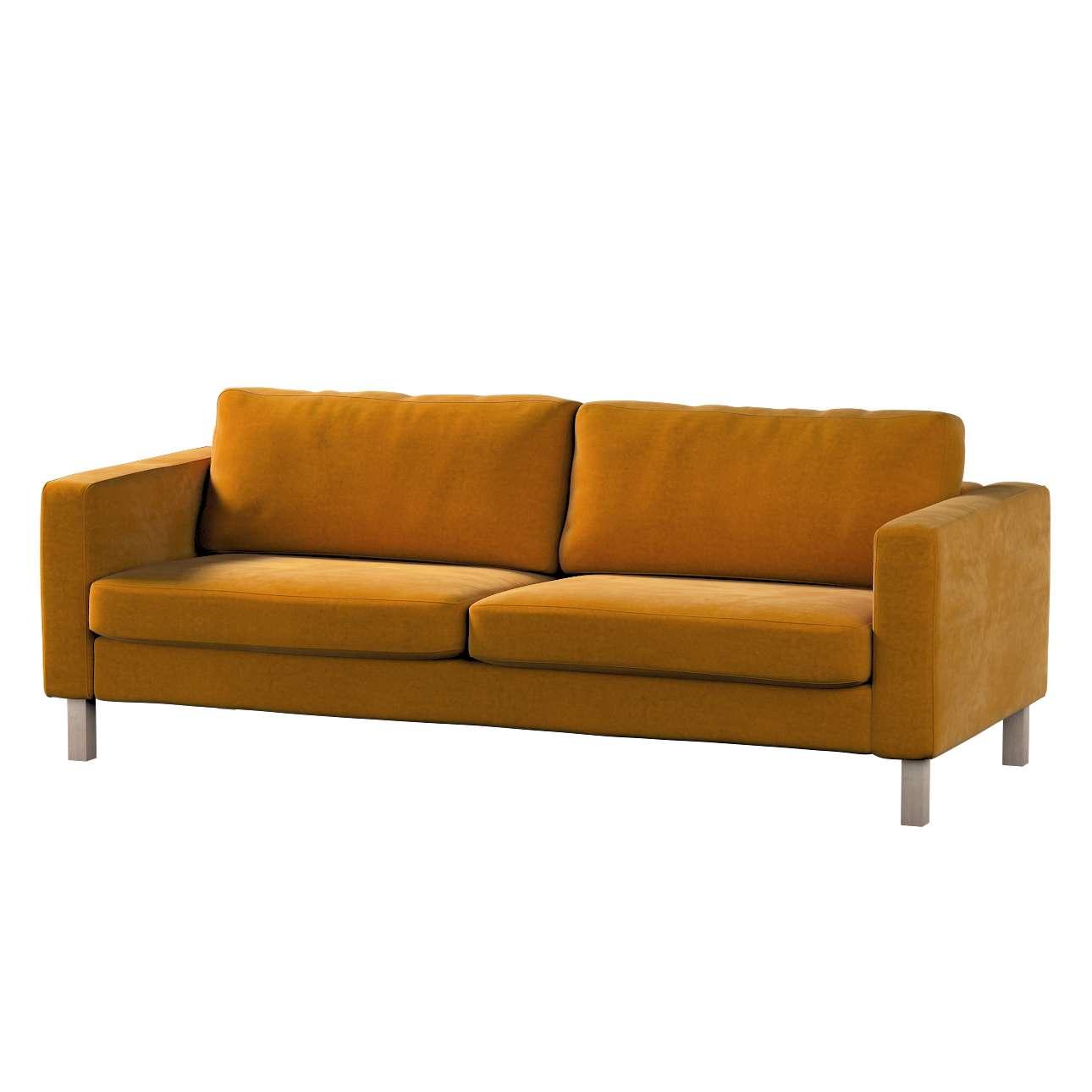 Potah na pohovku IKEA Karlstad, 3-místná, rozkládací v kolekci Velvet, látka: 704-23
