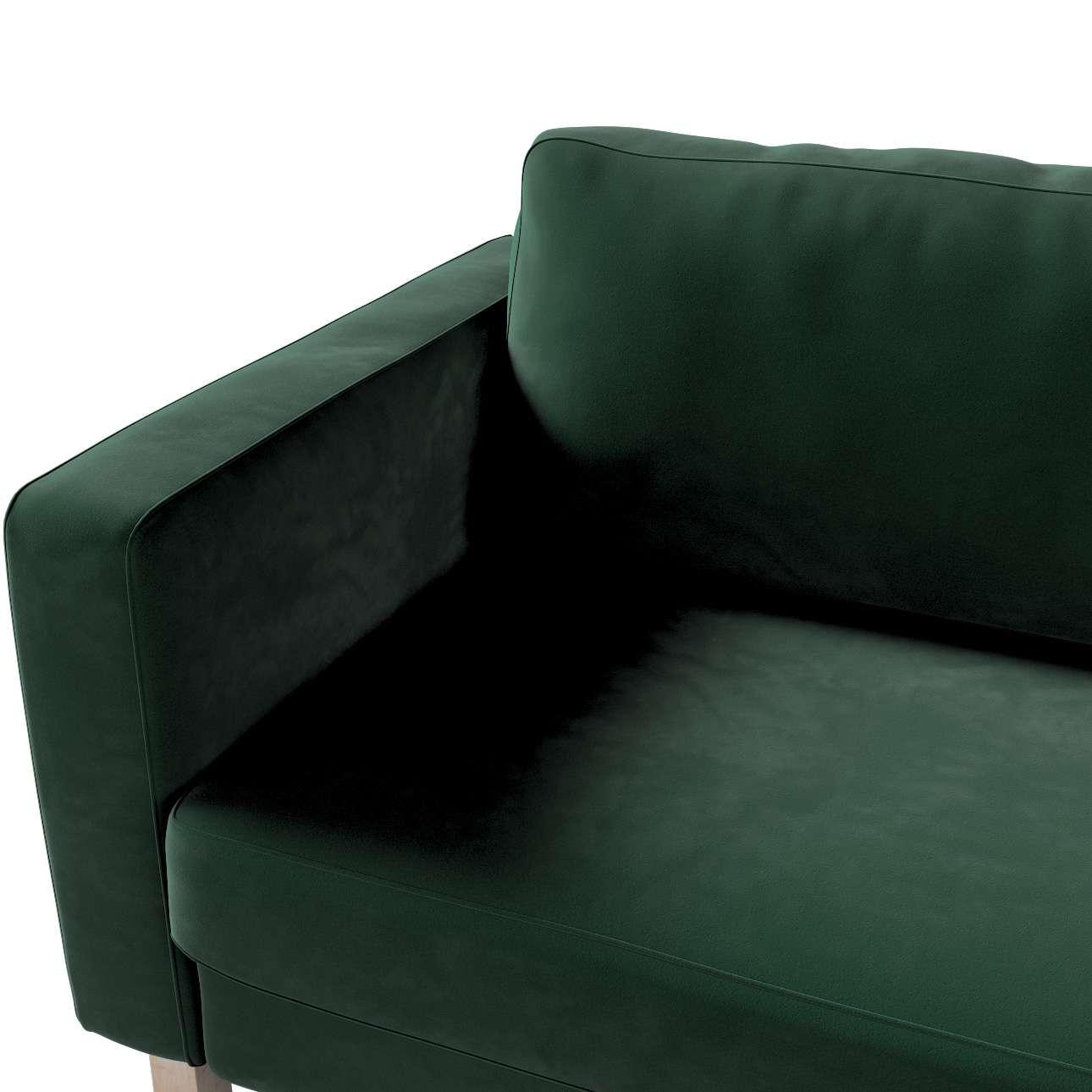 Pokrowiec na sofę Karlstad rozkładaną w kolekcji Velvet, tkanina: 704-25