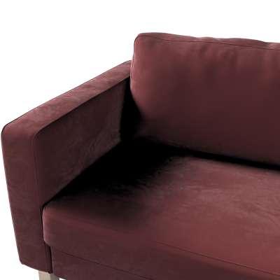 Pokrowiec na sofę Karlstad rozkładaną w kolekcji Velvet, tkanina: 704-26