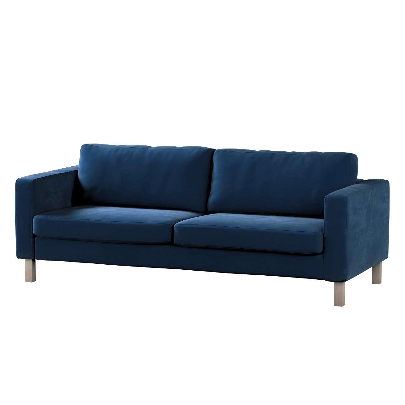 Pokrowiec na sofę Karlstad rozkładaną w kolekcji Velvet, tkanina: 704-29