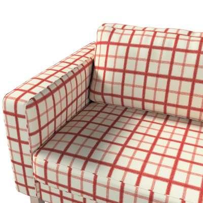 Pokrowiec na sofę Karlstad rozkładaną w kolekcji Avinon, tkanina: 131-15