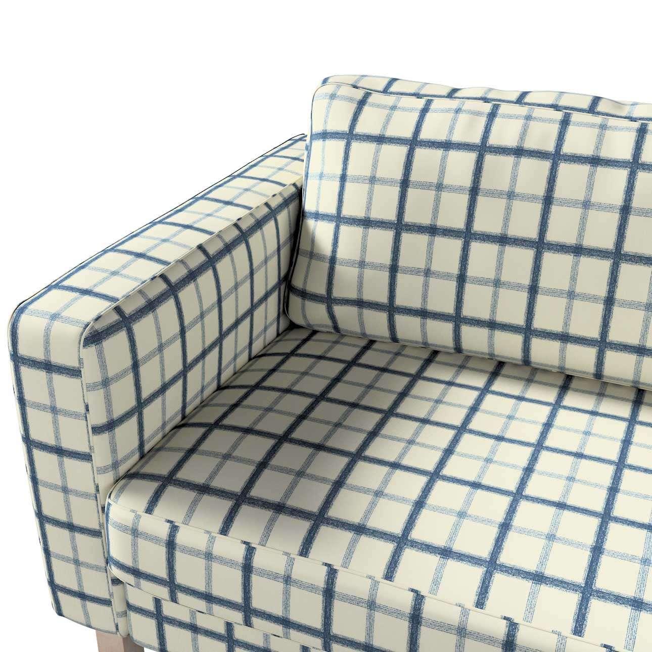 Pokrowiec na sofę Karlstad rozkładaną w kolekcji Avinon, tkanina: 131-66
