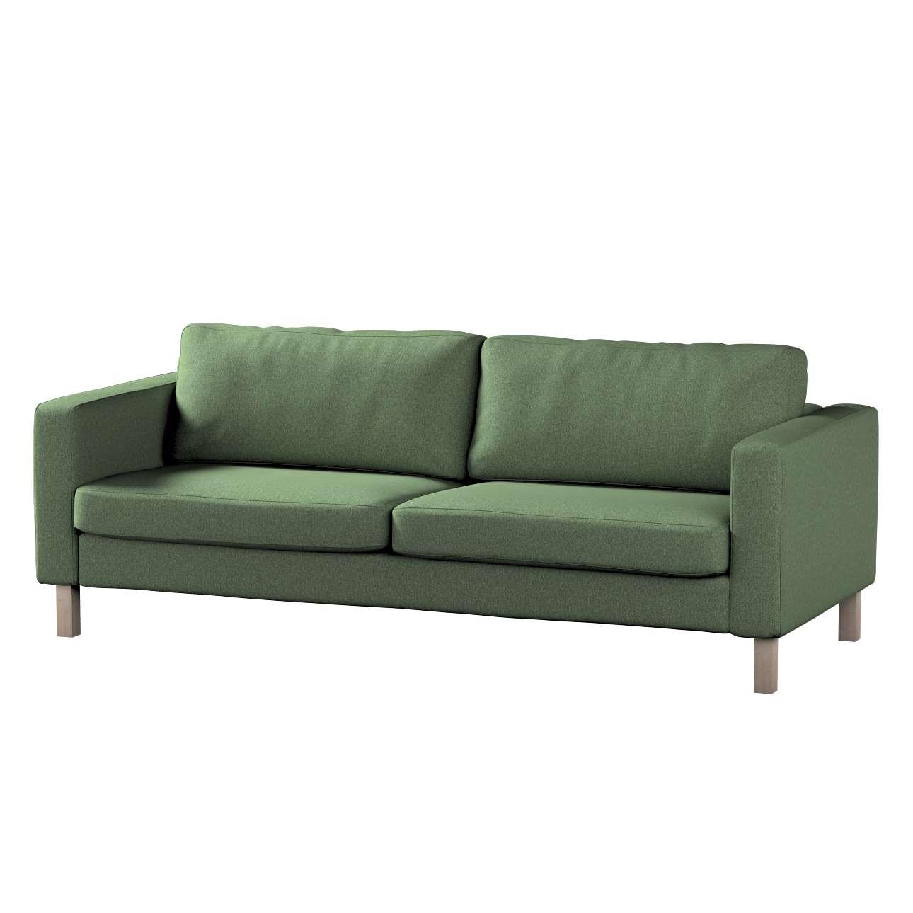 Pokrowiec na sofę Karlstad rozkładaną w kolekcji Amsterdam, tkanina: 704-44