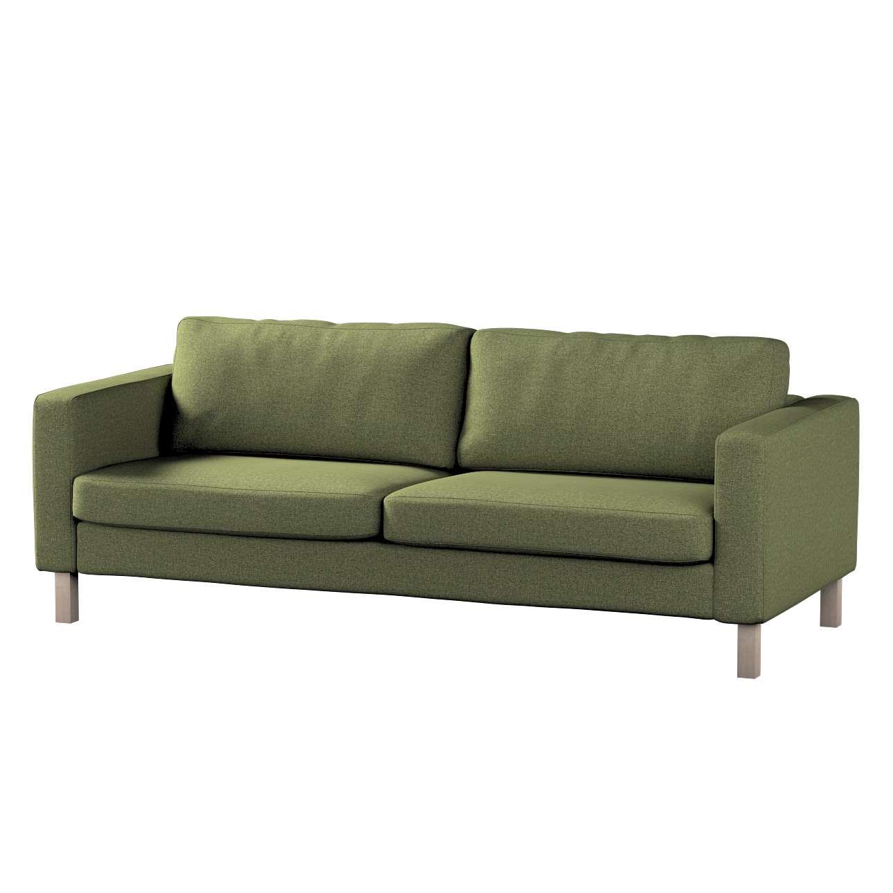 Potah na pohovku IKEA Karlstad, 3-místná, rozkládací v kolekci Madrid, látka: 161-22
