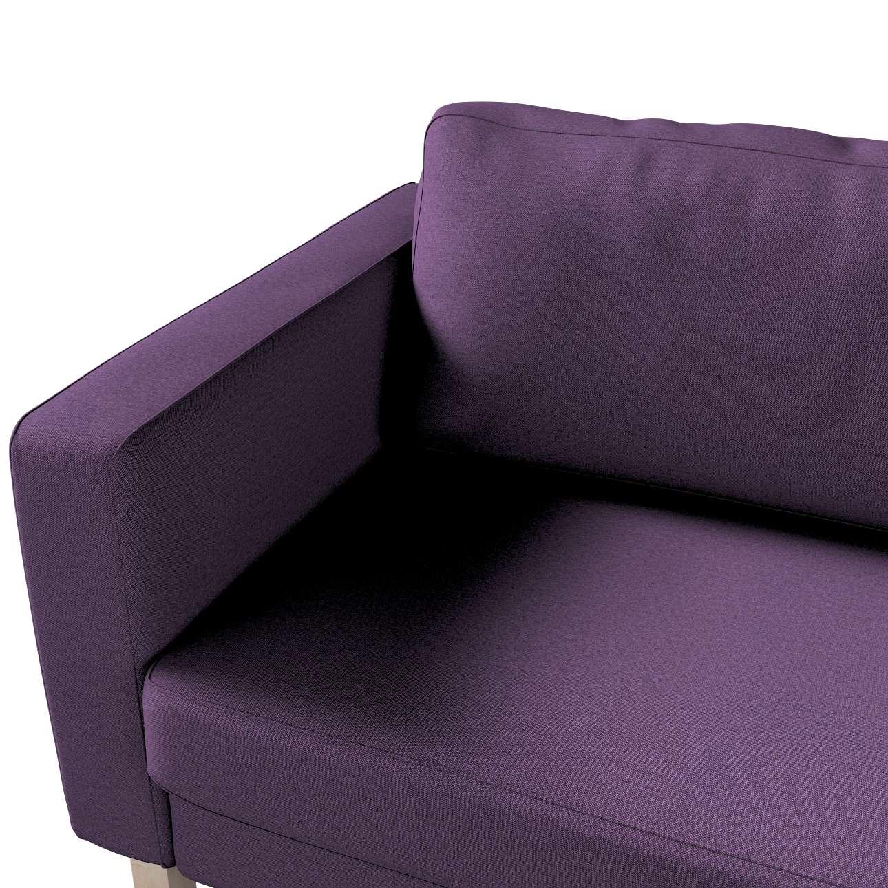 Pokrowiec na sofę Karlstad rozkładaną w kolekcji Etna, tkanina: 161-27