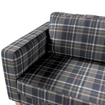 Pokrowiec na sofę Karlstad rozkładaną w kolekcji Edinburgh, tkanina: 703-16