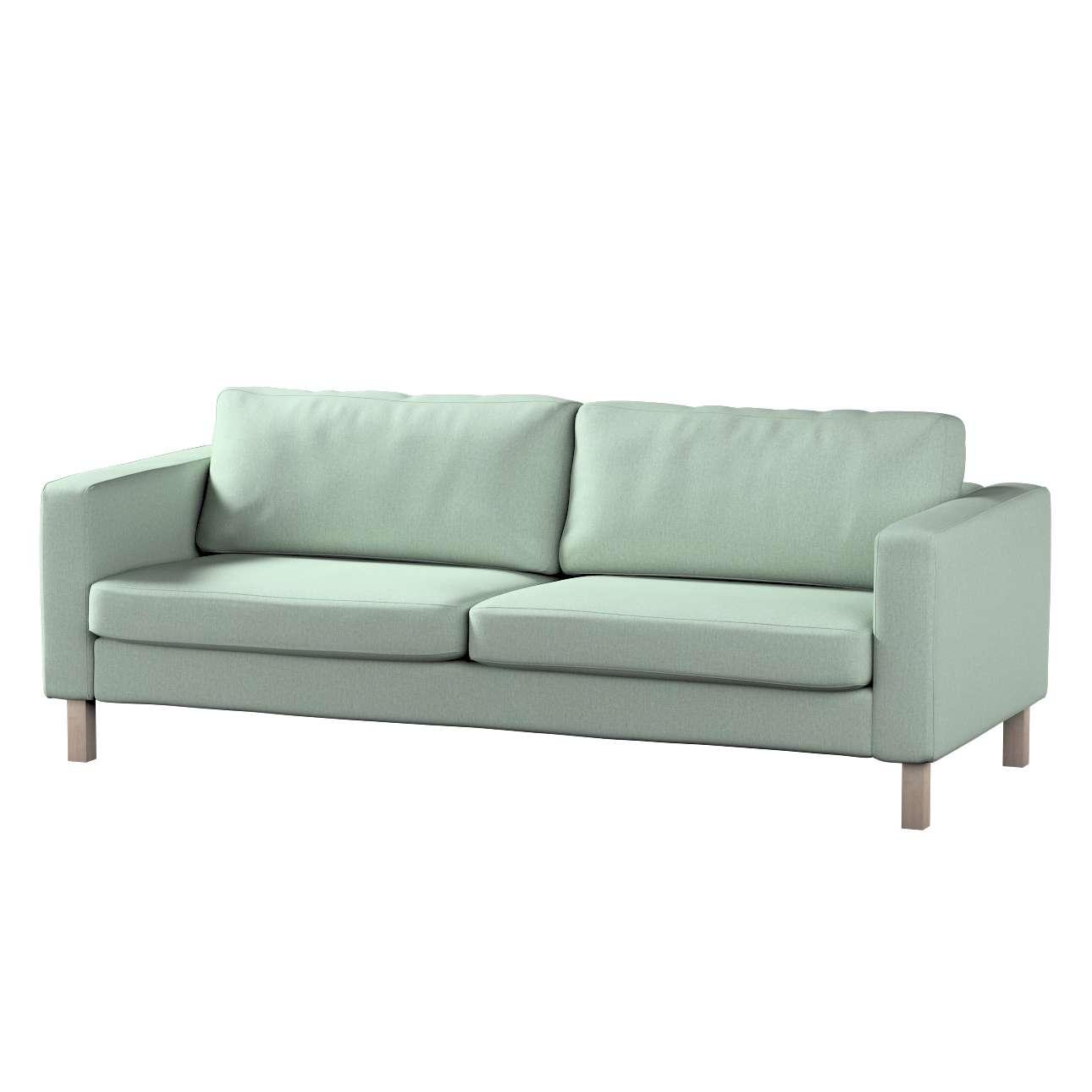 Pokrowiec na sofę Karlstad rozkładaną w kolekcji Living, tkanina: 161-61
