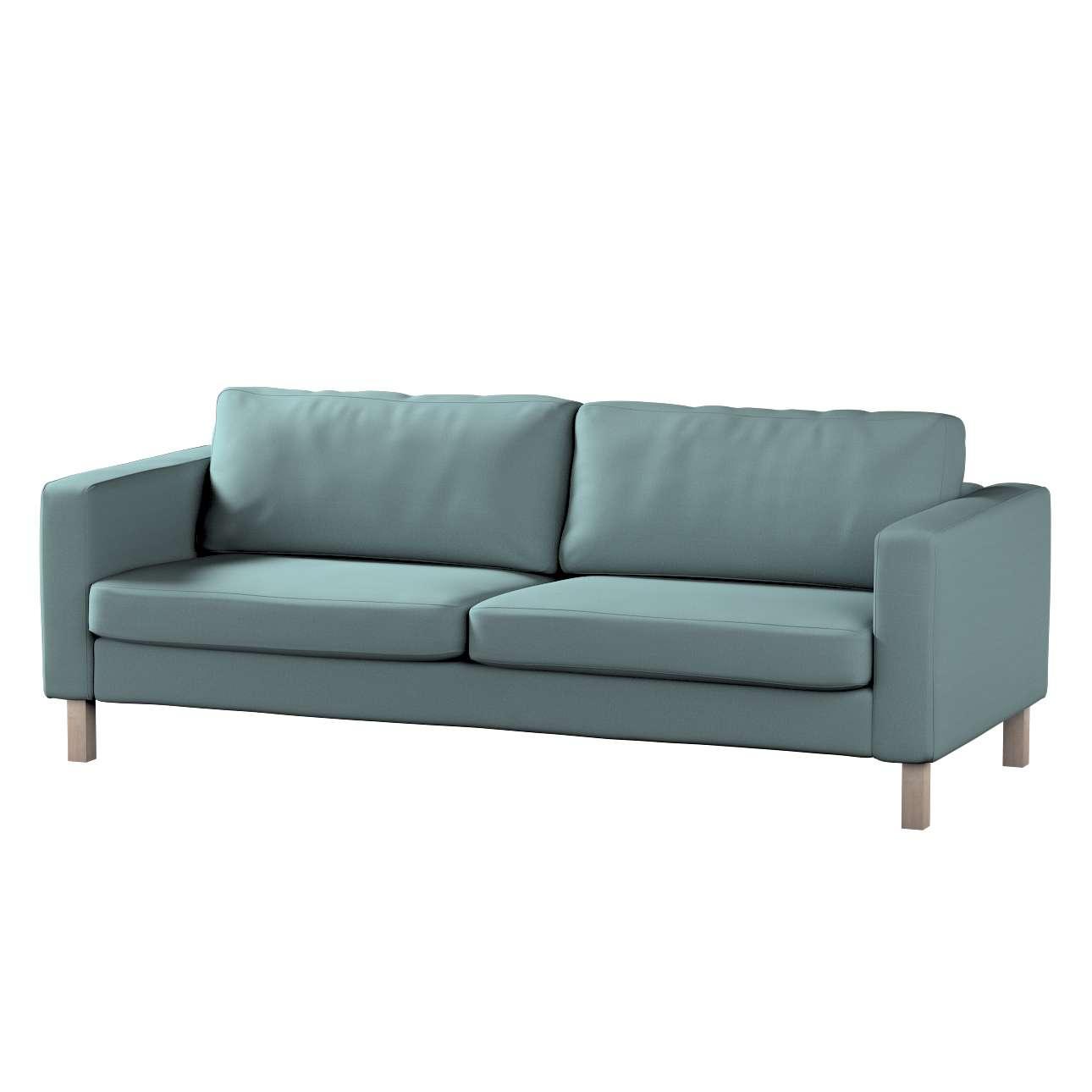 Karlstad betræk sovesofa 222cm fra kollektionen Cotton Panama, Stof: 702-40