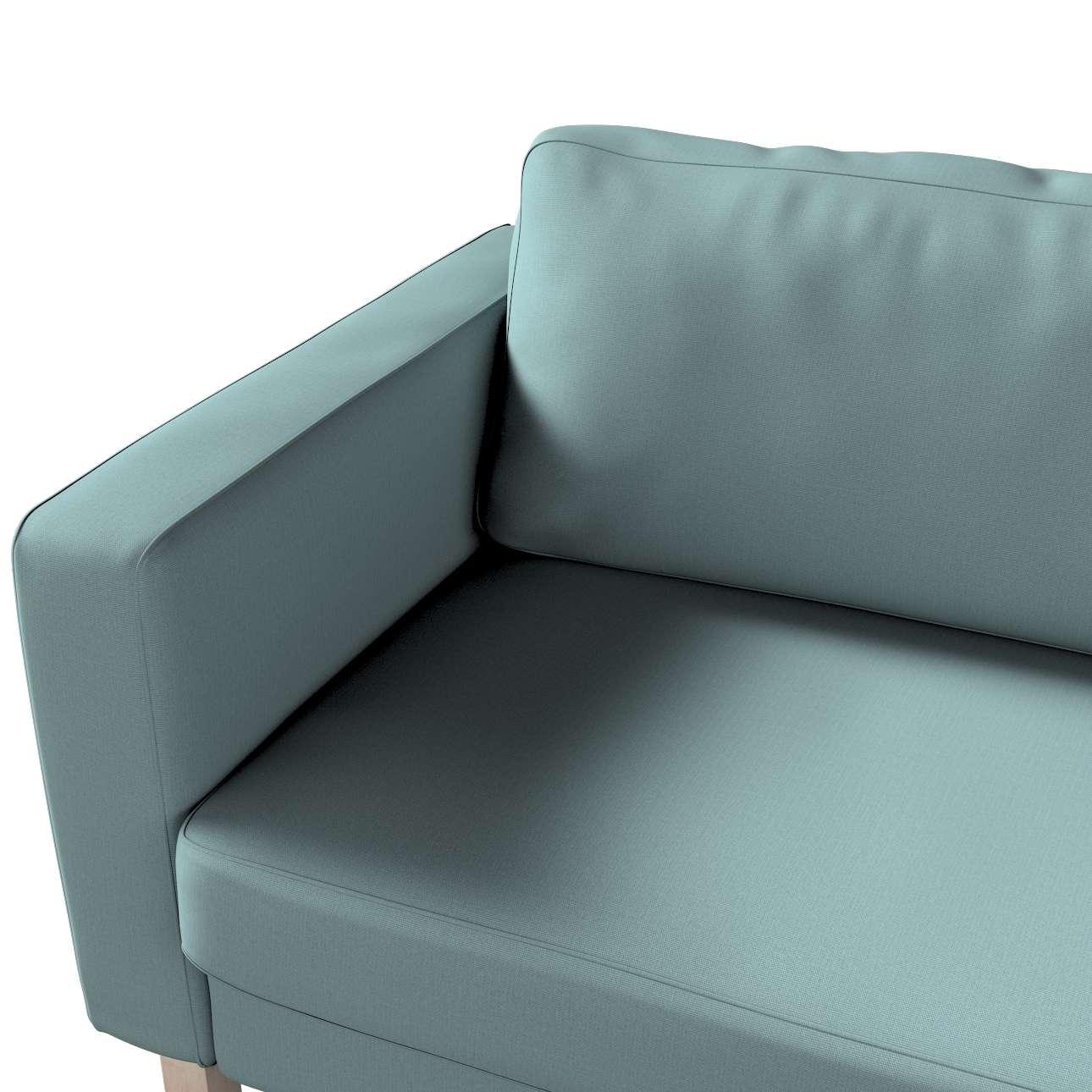 Pokrowiec na sofę Karlstad rozkładaną w kolekcji Cotton Panama, tkanina: 702-40