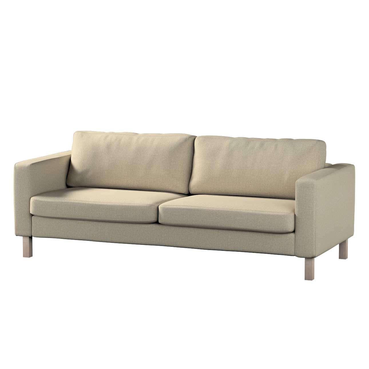 Pokrowiec na sofę Karlstad rozkładaną w kolekcji City, tkanina: 704-80