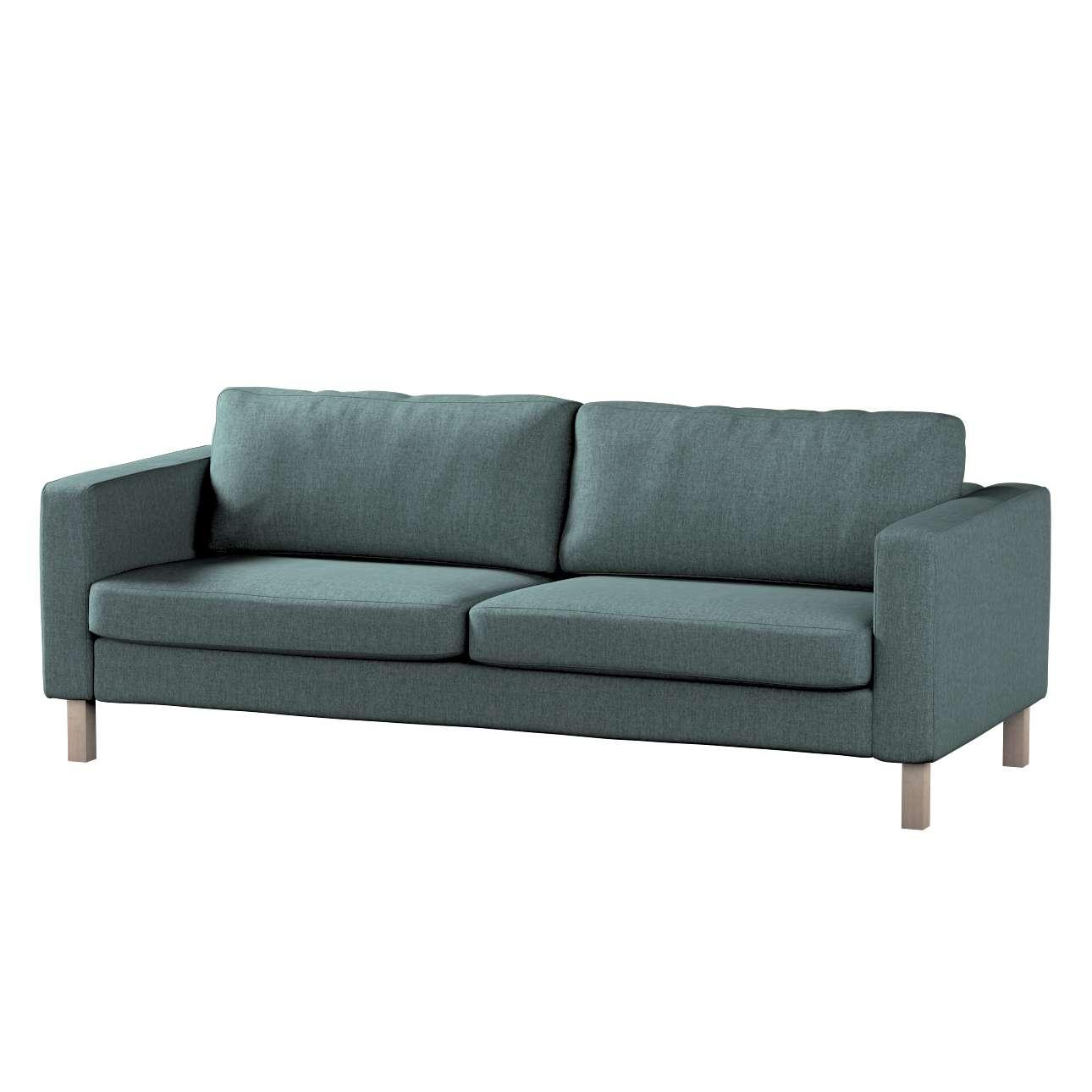 Pokrowiec na sofę Karlstad rozkładaną w kolekcji City, tkanina: 704-85