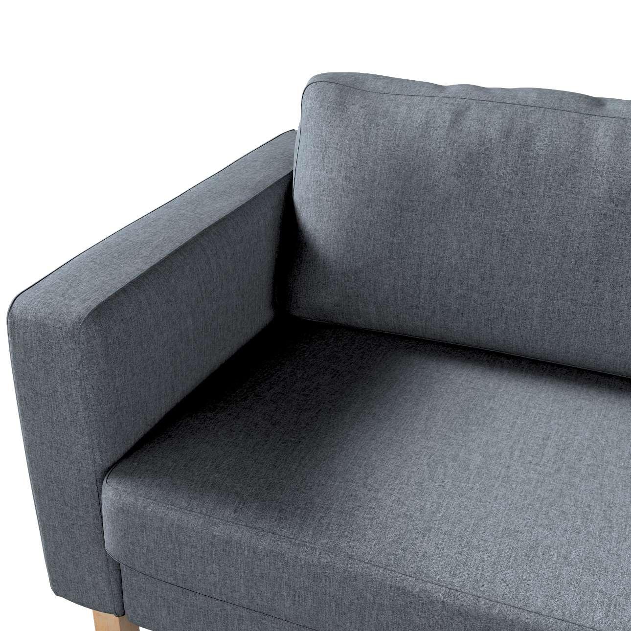 Pokrowiec na sofę Karlstad rozkładaną w kolekcji City, tkanina: 704-86