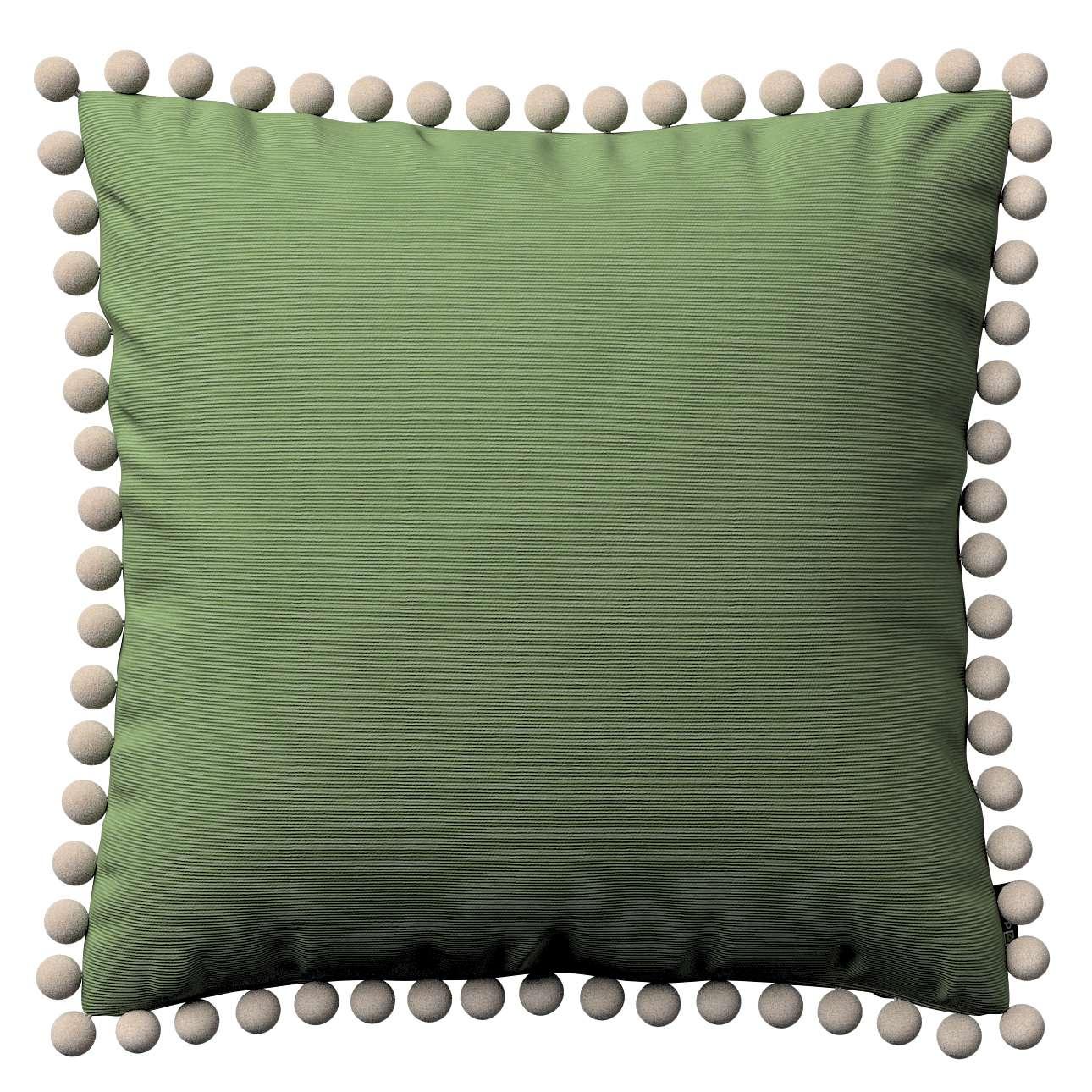 Wera dekoratyvinės pagalvėlės su žaismingais kraštais 45 x 45 cm kolekcijoje Jupiter, audinys: 127-52