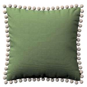 Wera dekoratyvinės pagalvėlės užvalkalas su žaismingais kraštais 45 x 45 cm kolekcijoje Jupiter, audinys: 127-52