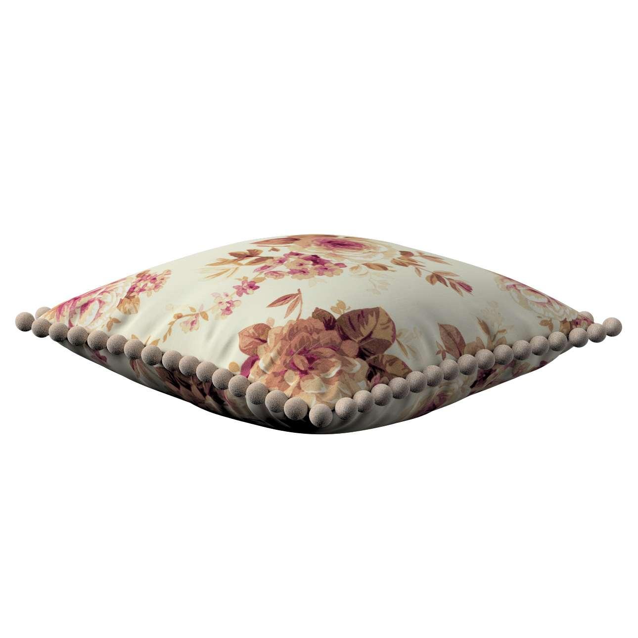 Poszewka Wera na poduszkę 45 x 45 cm w kolekcji Mirella, tkanina: 141-06