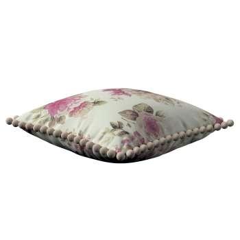Tyynynpäällinen<br/>Vera tupsuilla mallistosta Mirella, Kangas: 141-07