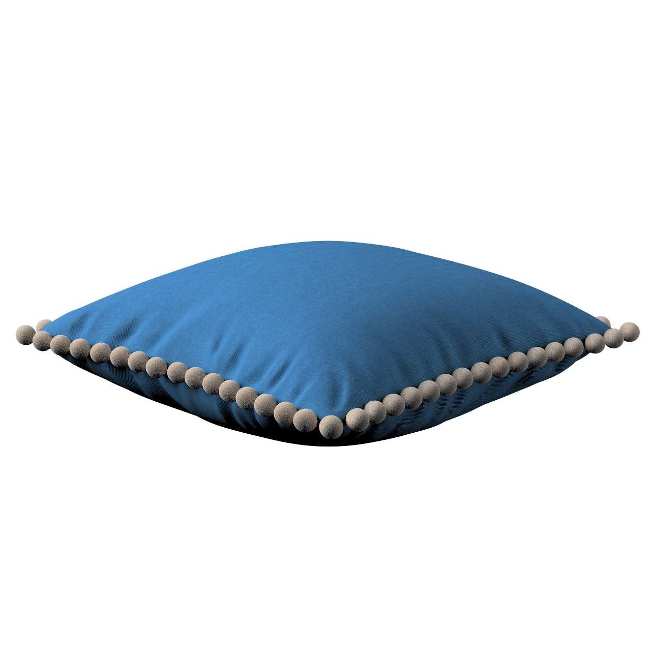 Wera dekoratyvinės pagalvėlės su žaismingais kraštais 45 x 45 cm kolekcijoje Jupiter, audinys: 127-61