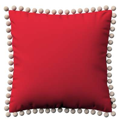Viera s brmbolcami V kolekcii Cotton Panama, tkanina: 702-04