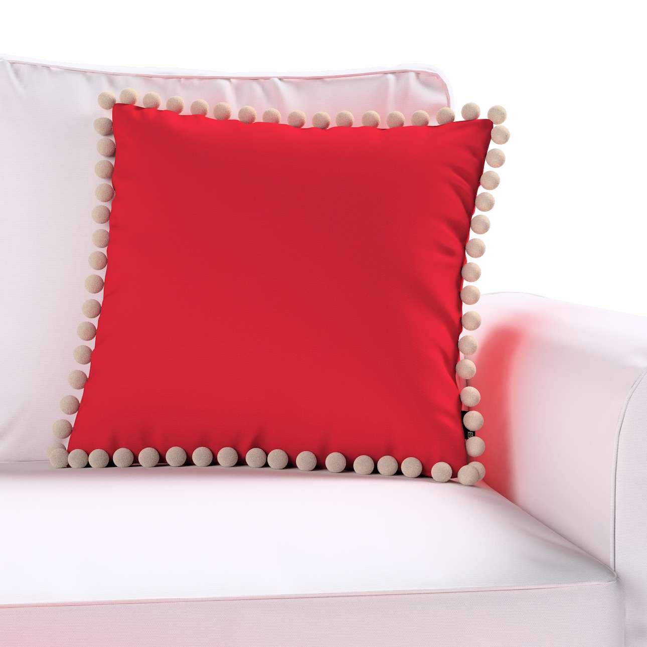 Poszewka Wera na poduszkę w kolekcji Cotton Panama, tkanina: 702-04