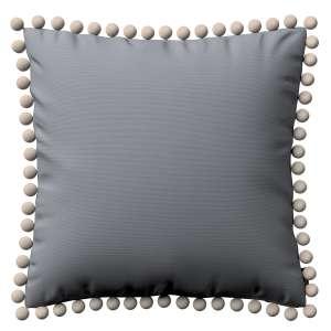 Wera dekoratyvinės pagalvėlės užvalkalas su žaismingais kraštais 45 x 45 cm kolekcijoje Cotton Panama, audinys: 702-07