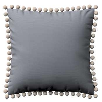 Wera dekoratyvinės pagalvėlės užvalkalas su žaismingais kraštais kolekcijoje Cotton Panama, audinys: 702-07