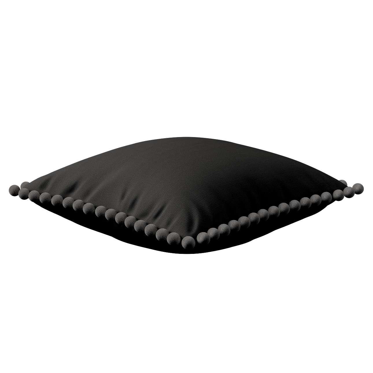 Wera dekoratyvinės pagalvėlės užvalkalas su žaismingais kraštais 45 x 45 cm kolekcijoje Cotton Panama, audinys: 702-08