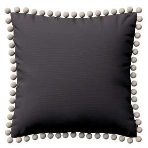 Wera dekoratyvinės pagalvėlės užvalkalas su žaismingais kraštais 45 x 45 cm kolekcijoje Cotton Panama, audinys: 702-09