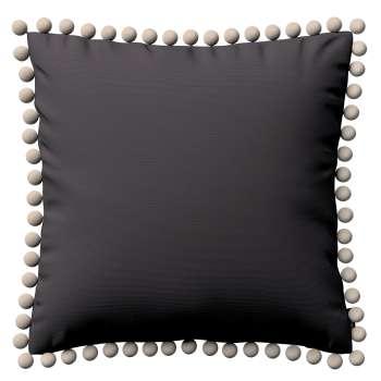 Wera dekoratyvinės pagalvėlės užvalkalas su žaismingais kraštais kolekcijoje Cotton Panama, audinys: 702-09