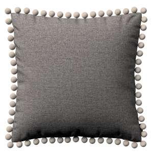 Wera dekoratyvinės pagalvėlės užvalkalas su žaismingais kraštais 45 x 45 cm kolekcijoje Edinburgh , audinys: 115-77