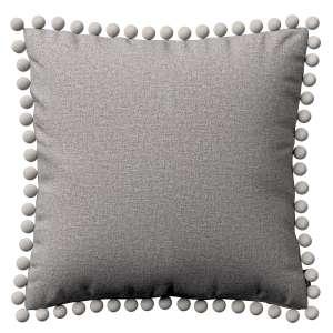 Wera dekoratyvinės pagalvėlės užvalkalas su žaismingais kraštais 45 x 45 cm kolekcijoje Edinburgh , audinys: 115-81