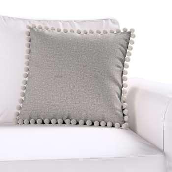 Wera dekoratyvinės pagalvėlės užvalkalas su žaismingais kraštais 45 × 45 cm kolekcijoje Edinburgh , audinys: 115-81