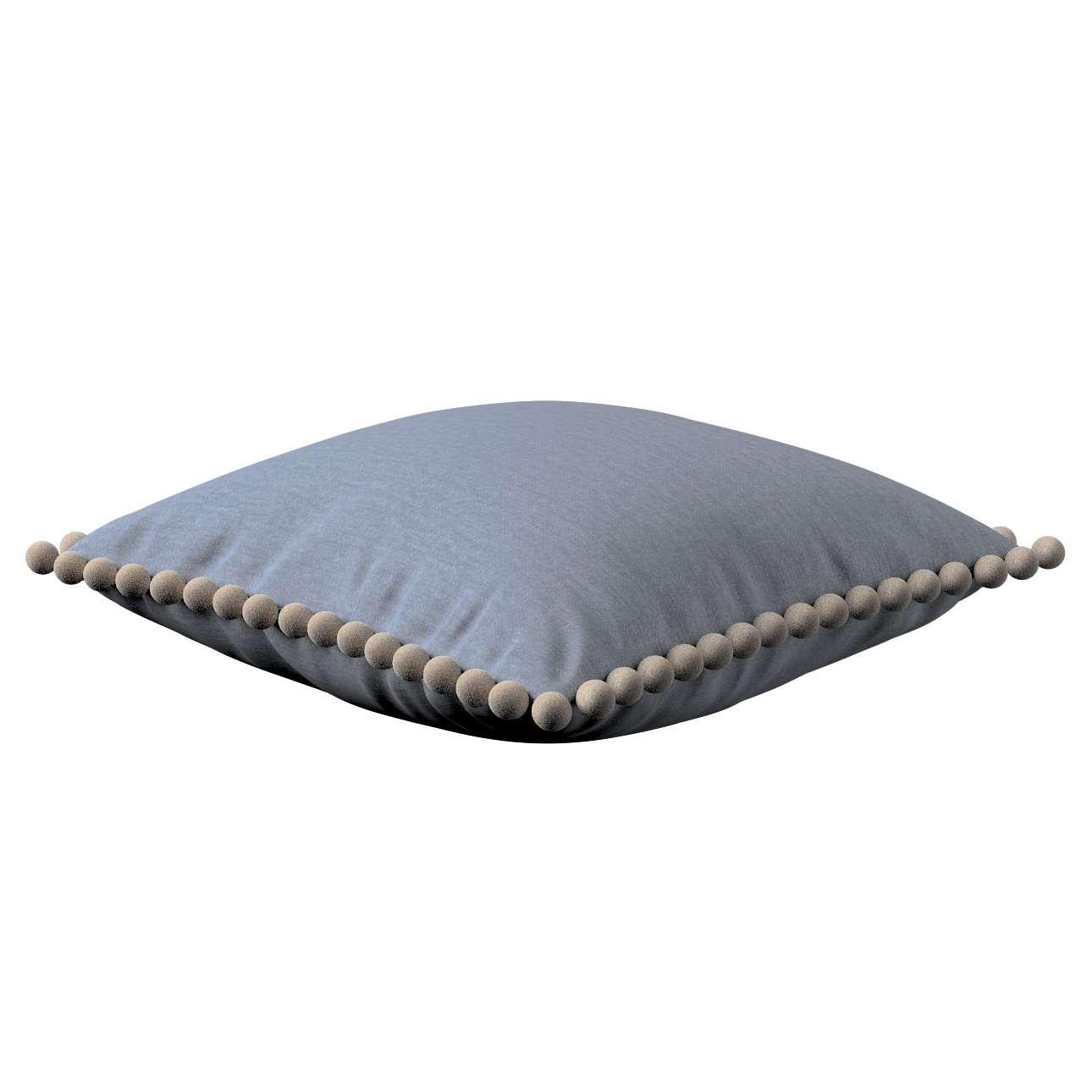 Wera dekoratyvinės pagalvėlės su žaismingais kraštais 45 x 45 cm kolekcijoje Chenille, audinys: 702-13