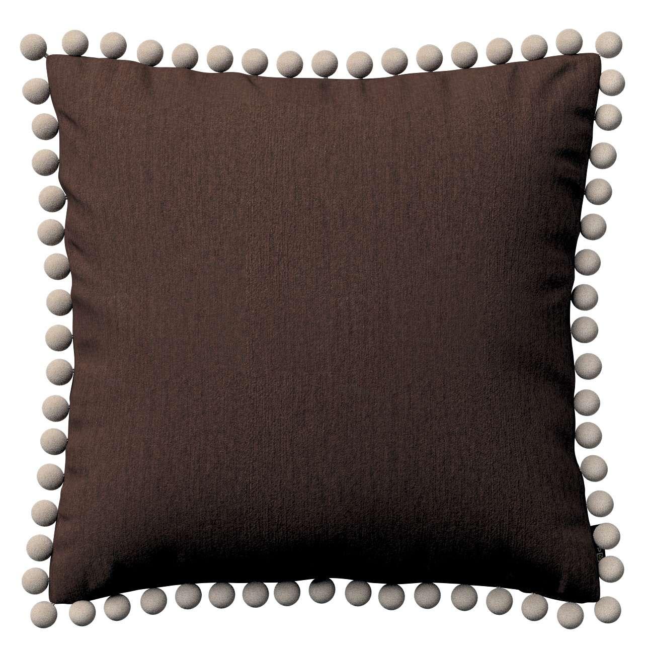 Poszewka Wera na poduszkę 45 x 45 cm w kolekcji Chenille, tkanina: 702-18
