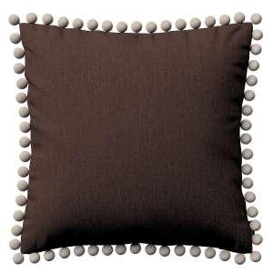 Wera dekoratyvinės pagalvėlės užvalkalas su žaismingais kraštais 45 x 45 cm kolekcijoje Chenille, audinys: 702-18