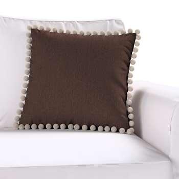 Wera dekoratyvinės pagalvėlės užvalkalas su žaismingais kraštais kolekcijoje Chenille, audinys: 702-18
