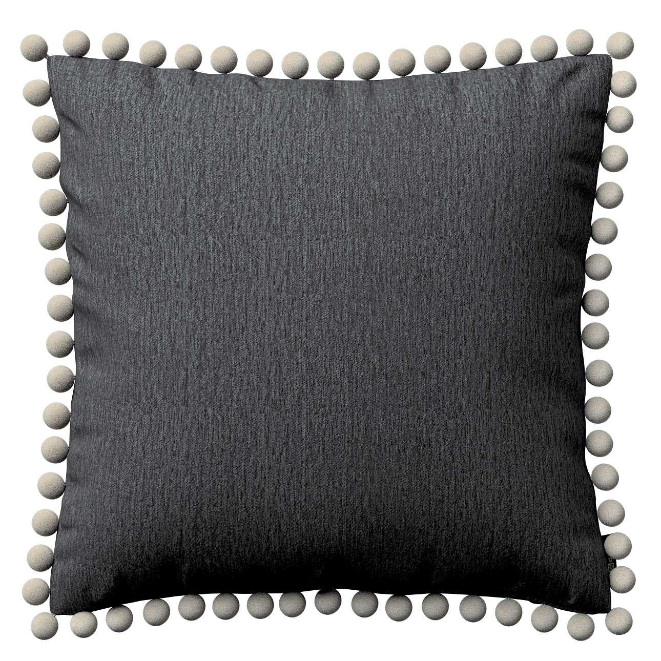 Poszewka Wera na poduszkę 45 x 45 cm w kolekcji Chenille, tkanina: 702-20