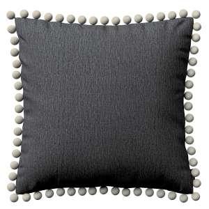 Wera dekoratyvinės pagalvėlės užvalkalas su žaismingais kraštais 45 x 45 cm kolekcijoje Chenille, audinys: 702-20